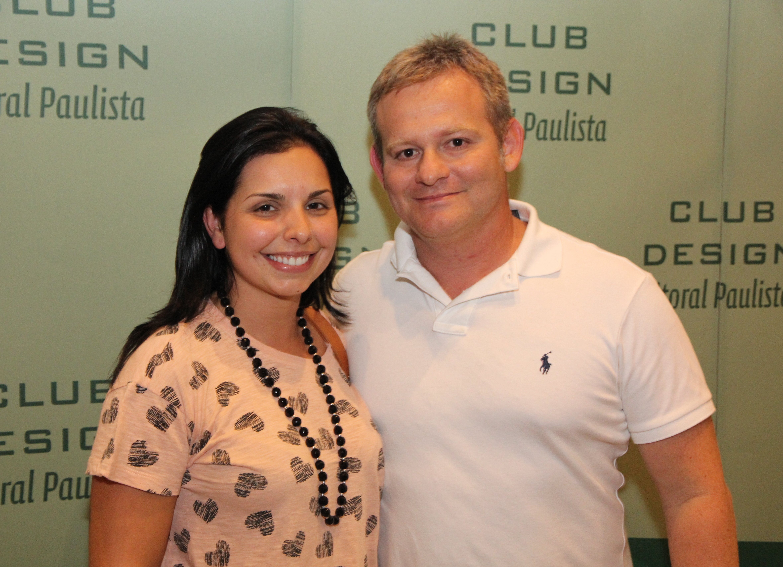 Profissionais Priscila Vivo e Felipe Torelli